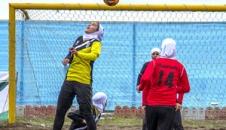 تصاویر/ مسابقات فوتبال ساحلی بانوان