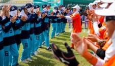 مسابقات سافتبال زنان ایران (تصاویر)
