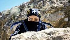 تصاویر/ تمرین زنان نینجاکار بروجردی