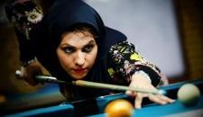 رقابت های قهرمانی بیلیارد بانوان استان خوزستان+تصاویر